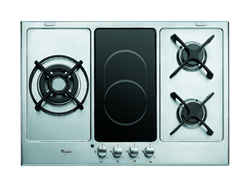 WHIRLPOOL GAS <BR &#47;> ELECTRIC HOB (S&#47;STEEL) <BR &#47;>MODEL: AKT759/IX