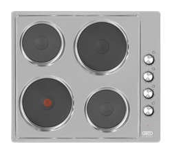 DEFY SOLID PLATE HOB (S/STEEL) MODEL: DHD399