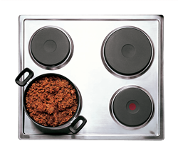 DEFY SOLID PLATE HOB (S/STEEL) MODEL: DHD333