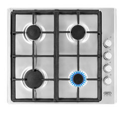 DEFY GAS HOB (S/STEEL) MODEL: DHG133