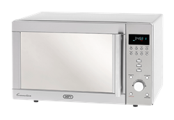 DEFY CONVECTION MICROWAVE OVEN (S/STEEL) MODEL: DMO357