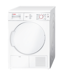 BOSCH <BR /> CONDENSER TUMBLE <BR /> DRYER (WHITE) <BR />MODEL: WTE84106ZA