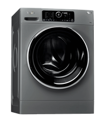 WHIRLPOOL FRONT <BR /> LOADER WASHING <BR /> MACHINE (SILVER) <BR />MODEL: FSCR90426