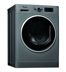 WHIRLPOOL FRONT LOADER WASHING MACHINE (SILVER) MODEL: WWDC9614S