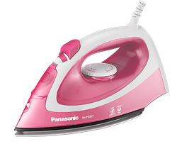 PANASONIC <BR &#47;> STEAM IRON (PINK) <BR &#47;>MODEL: NI-P300T