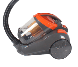 PANASONIC VACUUM <BR /> CLEANER (BLACK) <BR />MODEL: MC-CL163DF4X