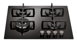 WHIRLPOOL <BR /> GAS HOB (BLACK) <BR />MODEL: GOA6423/NB