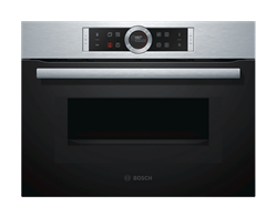 BOSCH BUILT IN <BR /> OVEN (S/STEEL) <BR />MODEL: CMG633BS1