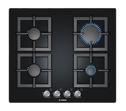 BOSCH <BR /> GAS HOB (BLACK) <BR />MODEL: PPP616B21E