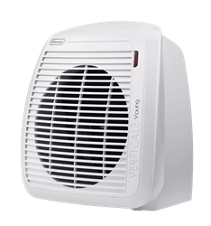 DELONGHI FAN HEATER (WHITE) MODEL: HVY1020