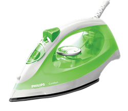 PHILIPS <BR /> STEAM IRON (GREEN) <BR />MODEL: GC1434/70