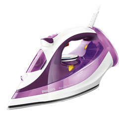 PHILIPS <BR /> STEAM IRON (PURPLE) <BR />MODEL: GC4515/30