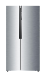HAIER <BR /> SIDE BY SIDE <BR /> FRIDGE (S/STEEL) <BR />MODEL:  HRF-521DM6