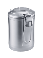 DELONGHI COFFEE CANISTER (GREY) MODEL: DECC500