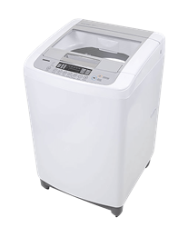 LG TOP LOADER WASHING MACHINE (WHITE) MODEL: T1207TEFTW