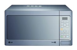 LG MICROWAVE OVEN (SILVER) MODEL: MH8042GM