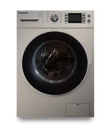 PANASONIC FRONT <BR />  LOADER WASHING <BR /> MACHINE (SILVER) <BR />MODEL: NA-148MB1LZA