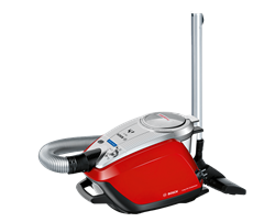 BOSCH VACUUM <BR /> CLEANER (RED) <BR />MODEL: BGS5Z0001