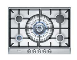 BOSCH <BR /> GAS HOB (S/STEEL) <BR />MODEL: PCQ715B90Z