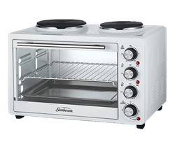 SUNBEAM <BR /> MINI OVEN <BR />MODEL: SCO-350