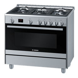 BOSCH FULL <BR &#47;> GAS STOVE (S&#47;STEEL) <BR &#47;>MODEL: HSG737356Z