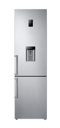 SAMSUNG DOUBLE DOOR FRIDGE (INOX) MODEL: RB37J5942SL