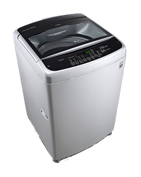 LG TOP LOADER WASHING MACHINE (SILVER) MODEL: T1566NEFTFC
