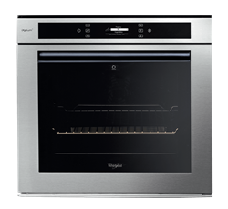 WHIRLPOOL BUILT IN <BR  /> OVEN (INOX) <BR />MODEL: AKZM6560/IXL