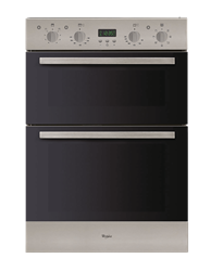 WHIRLPOOL BUILT IN <BR  /> DOUBLE OVEN (INOX) <BR />MODEL: ADMC1918/IX