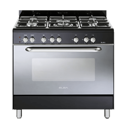 ELBA <BR &#47;> GAS ELECTRIC <BR &#47;> STOVE (BLACK) <BR &#47;>MODEL: 01&#47;9CX827B