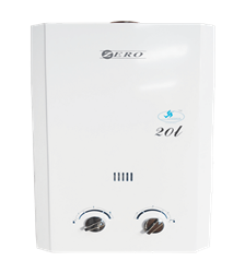 ZERO <BR /> GAS GEYSER (WHITE) <BR />MODEL: JSD40LN1