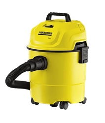 KARCHER  VACUUM <BR /> CLEANER (YELLOW) <BR />MODEL: WD1