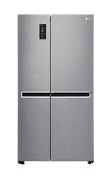 LG <BR /> SIDE BY SIDE <BR /> FRIDGE (SILVER) <BR />MODEL: GC-B247SLUV