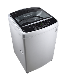 LG TOP LOADER WASHING MACHINE (SILVER) MODEL: T1366NEFTF
