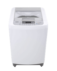 LG TOP LOADER WASHING MACHINE (WHITE) MODEL: T1369NEFT