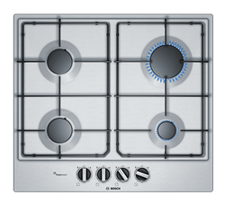 BOSCH GAS HOB (S/STEEL) MODEL: PCP6A5B80Z