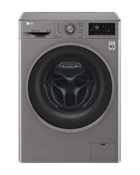 LG FRONT <BR &#47;> LOADER WASHING <BR &#47;> MACHINE (SILVER) <BR &#47;>MODEL: FH4U2TNP8S