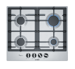BOSCH <BR /> GAS HOB (S/STEEL) <BR />MODEL: PCP6A5B90Z