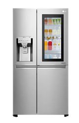 LG <BR /> SIDE BY SIDE <BR /> FRIDGE (S/STEEL) <BR />MODEL: GC-X247CSBV