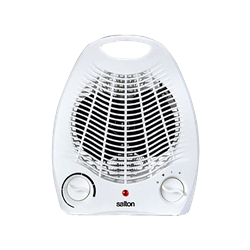 SALTON FAN HEATER (WHITE) MODEL: SFH10