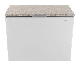 UNIVA CHEST<BR /> FREEZER (METALLIC) <BR />MODEL: UC310M