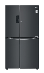LG <BR &#47;> SIDE BY SIDE <BR &#47;> FRIDGE (BLACK) <BR &#47;>MODEL: GC-M247UGBZ