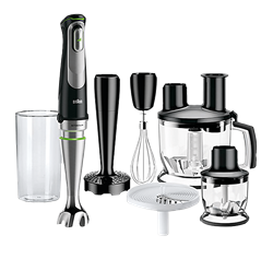BRAUN HAND BLENDER (BLACK) MODEL: MQ9087X