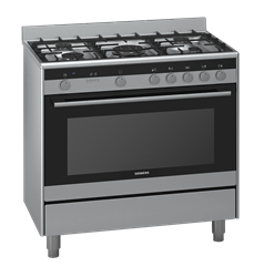 SIEMENS GAS ELECTRIC STOVE (S/STEEL) MODEL: HQ737357Z
