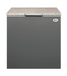 UNIVA CHEST <BR /> FREEZER (METALLIC) <BR />MODEL: UC210M
