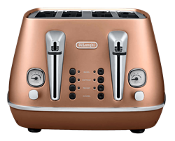 DELONGHI TOASTER (COPPER) MODEL: CTI4003.CP