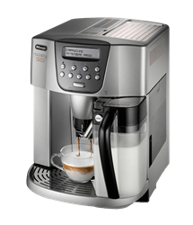 DELONGHI COFFEE MACHINE (SILVER) MODEL: ESAM4500