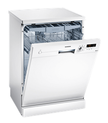 SIEMENS DISHWASHER (WHITE) MODEL: SN215W02EE