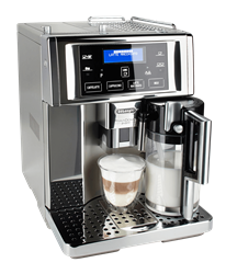 DELONGHI COFFEE MACHINE (METAL) MODEL: ESAM6750