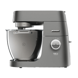 KENWOOD CHEF TITANIUM XL KITCHEN MACHINE (SILVER) MODEL: KVL8482S